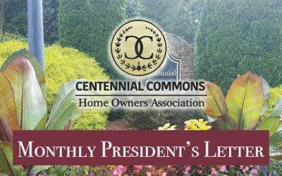 DECEMBER 2017 – President's Letter