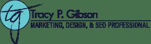 Tracy P. Gibson, Marketing, Design, & SEO Professional - Logo
