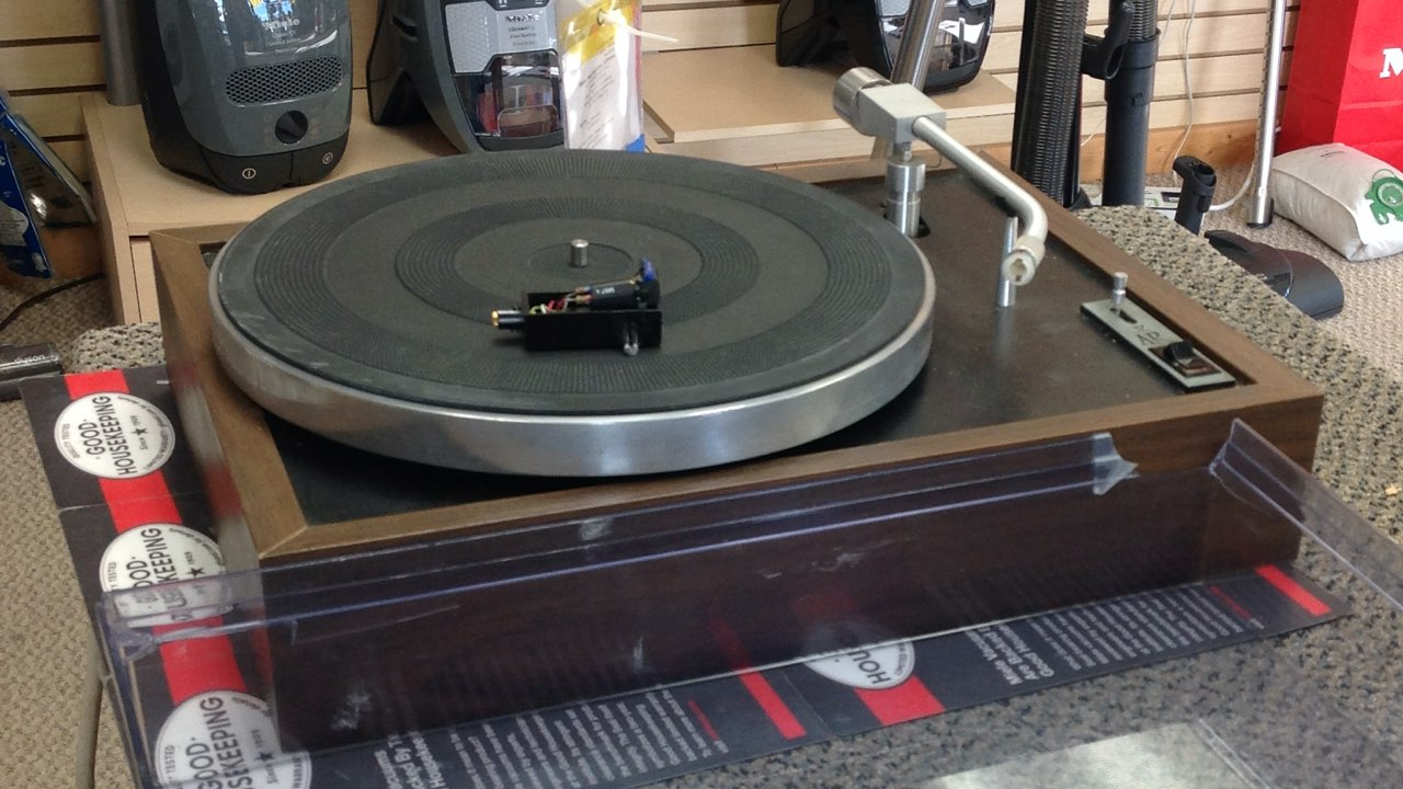 vintage turntable repair