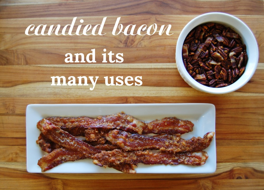 Candied Bacon Banner with Caption