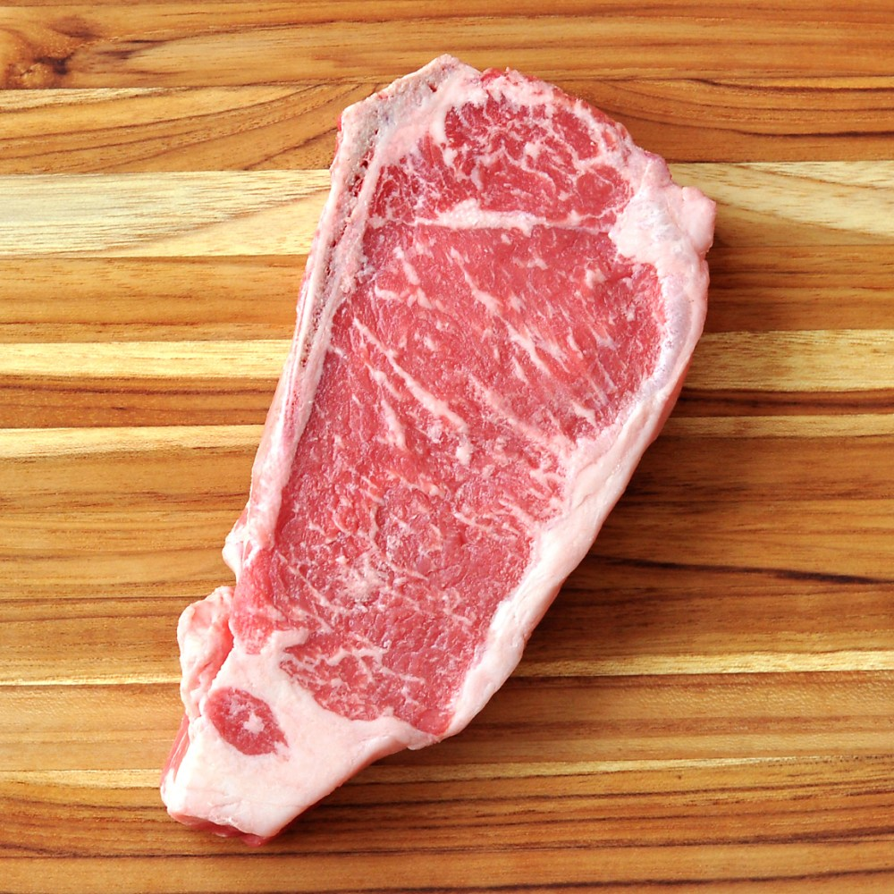 Pasture-Raised Beef NY Strip Steak, Bone-In