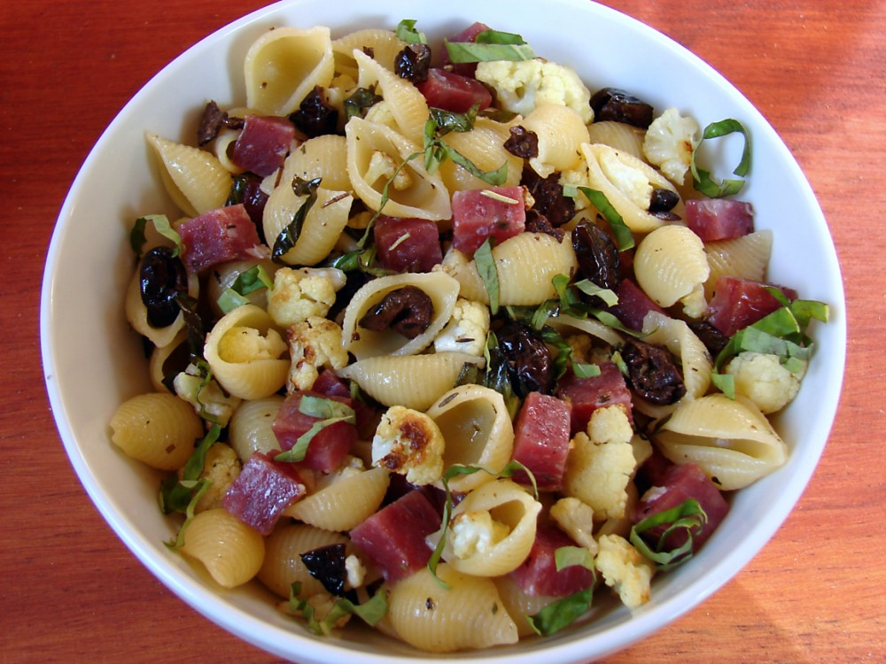 pasta-salad-with-olives-cauliflower-and-saucisson-recipe