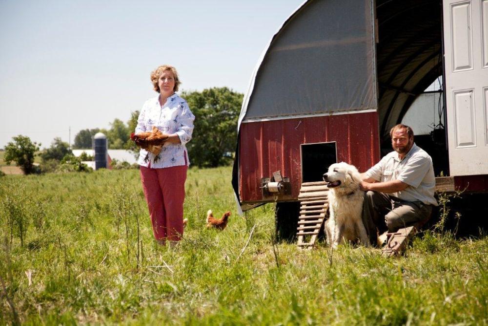 Ariane at Chicken Farm PA