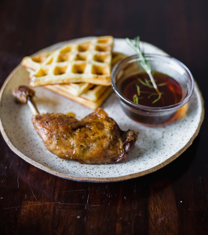 Chicken Confit and Waffles Britanny Conerly 2