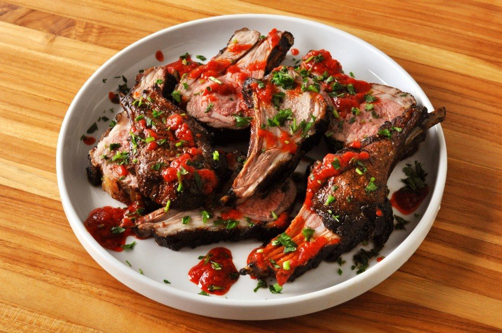 Moroccan Lamb Chops with Harissa Main