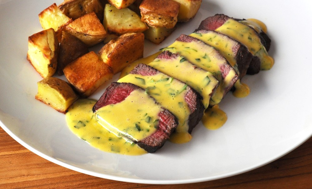 Wagyu Filet Mignon with Bearnaise