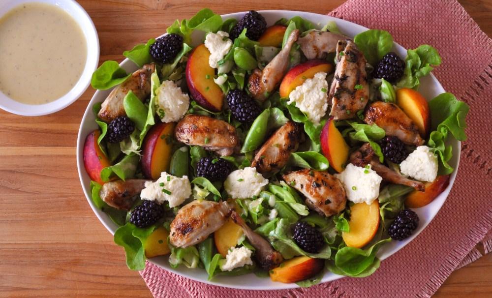Quail Salad Main Shot