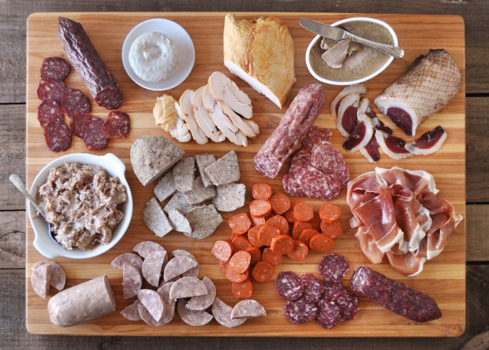 Charcuterie for 12 kit