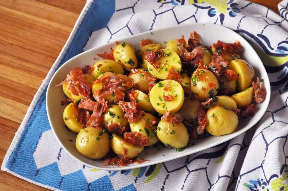 Jambon de Bayonne German Potato Salad