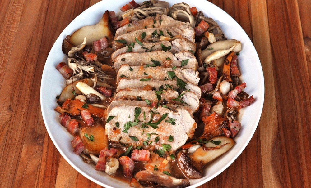 veal-roast-with-mushrooms-recipe