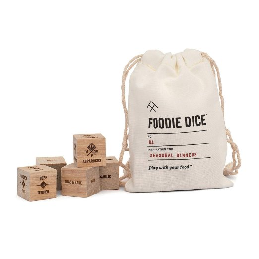 Foodie Dice Uncommon Goods