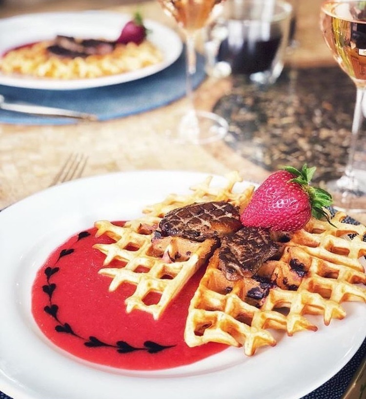 Waffles Robert Browarek IG Foieffles Recipe