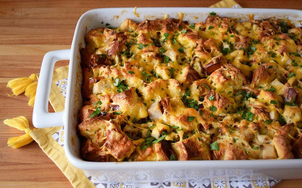 truffle-turkey-breast-breakfast-casserole-recipe