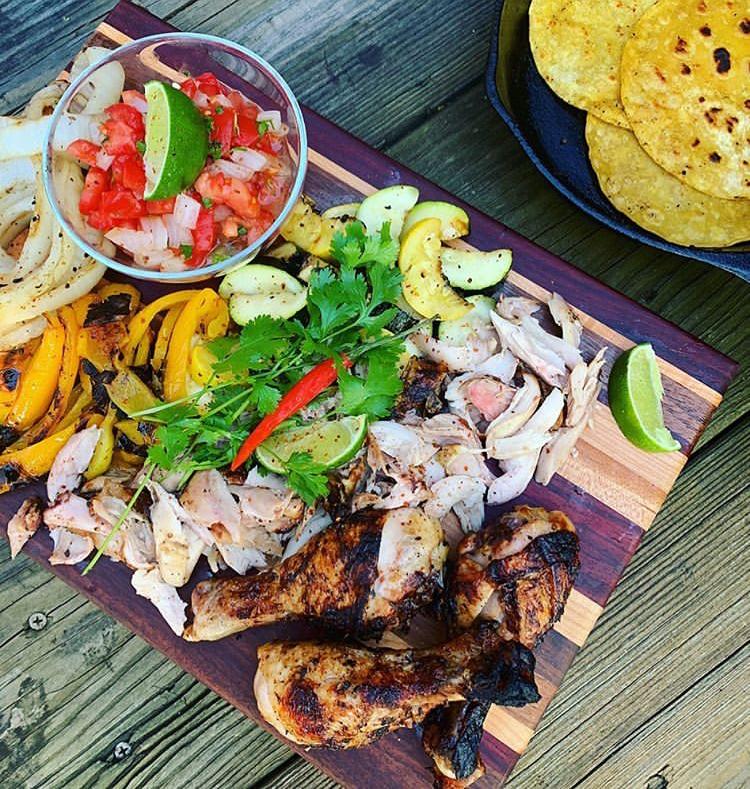 IG Chefff Lex Chicken Taco Board