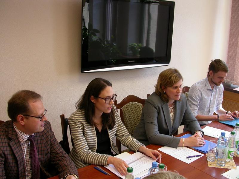 встреча представителей НЦЗПИ и ПРООН