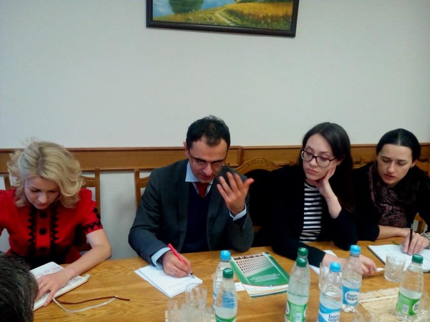 встреча с международным экспертом по вопросам государственного управления