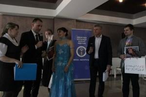 Вручение супер приза Зинаиде Машковской
