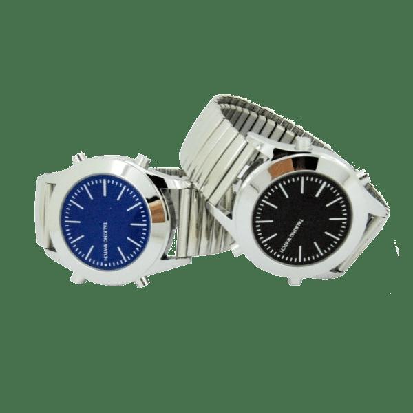 Часы наручные для незрячих и слабовидящих с синтезом речи и шрифтом Брайля. Модель 5831