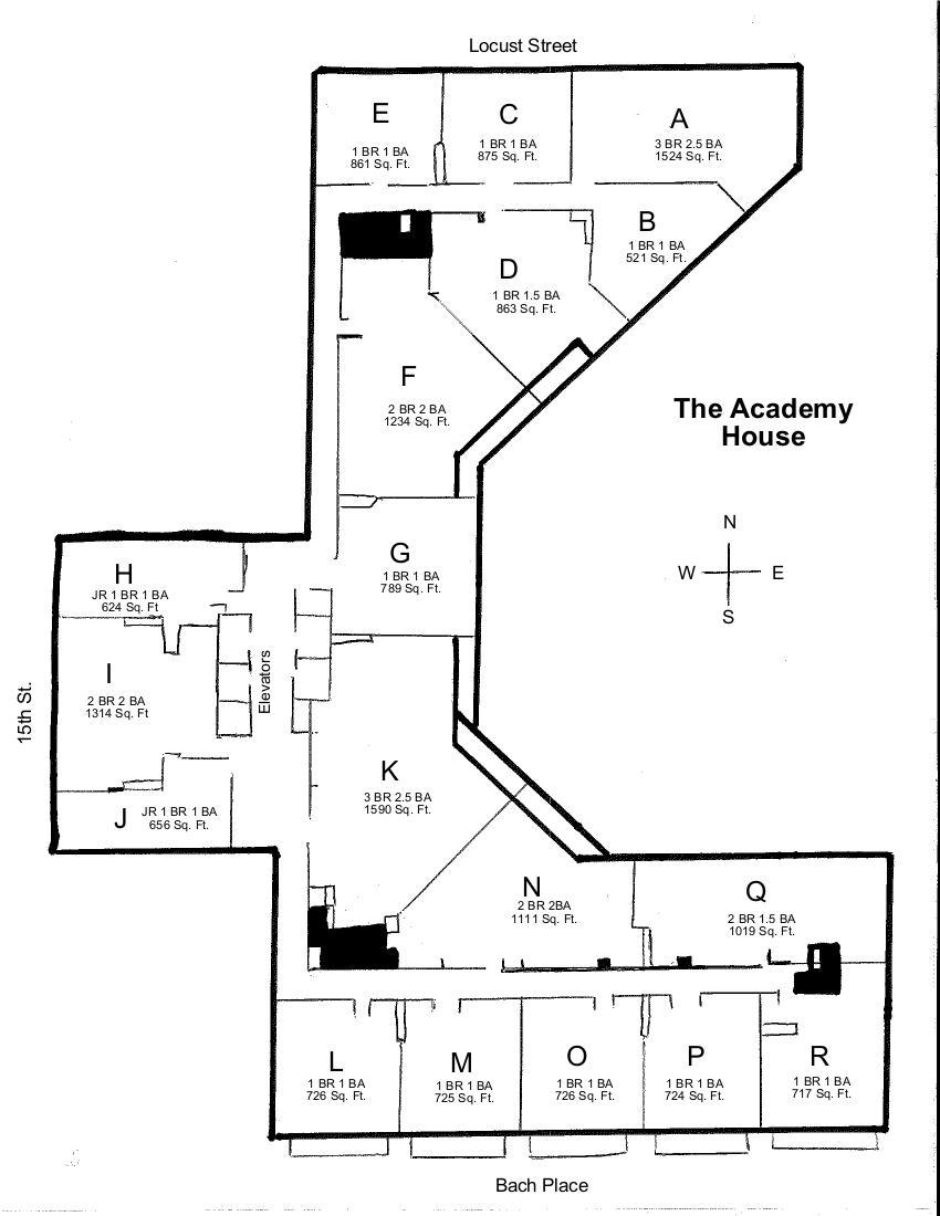 Academy House Condos The Center City Condos Sales Team
