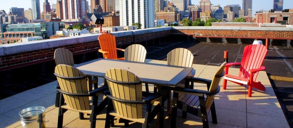 Hawthorne Loft Roof deck