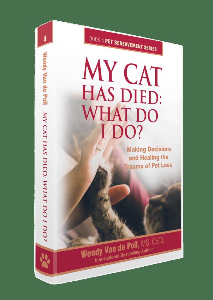 my cat has dies book cover