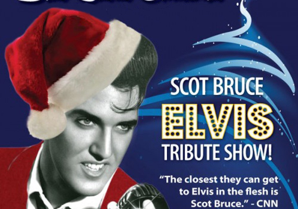 Elvis Tribute Show: Blue Suede Christmas | Center For The Arts At ...