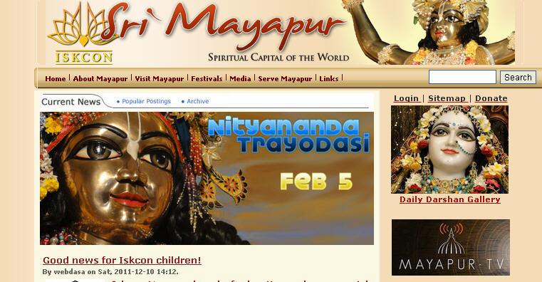 Iskcon Tv Live Mayapur
