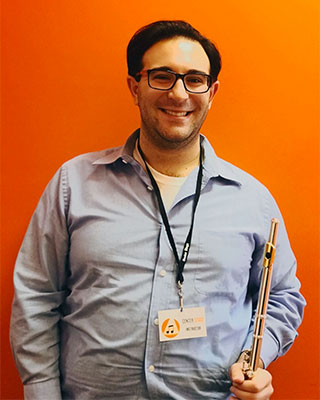 Michael Roberts, Instructor at Center Stage Music Center