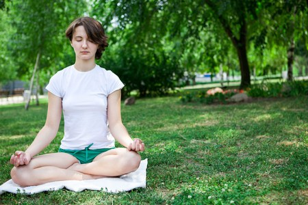 mood swings improvements try meditation