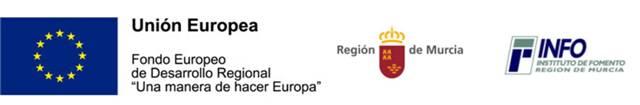 Logos convenio centic union europea region de murcia INFO