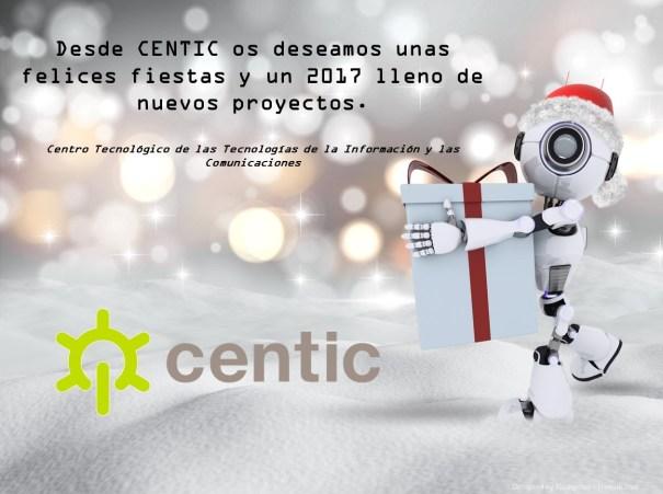 Christmas de CENTIC Felices Fiestas y 2017 lleno de proyectos