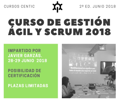 Curso gestion agil y scrum centic