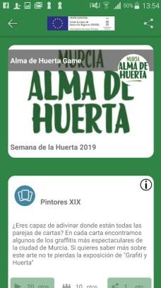 app alma de huerta Ayuntamiento de Murcia Patrimonio Inteligente CENTIC