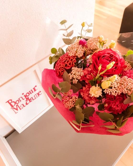 Bouquet reçu pour mon dernier anniversaire