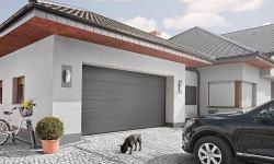 Porte de garage sectionnelle sur mesure