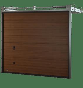 Porte de garage sectionnelle monoligne