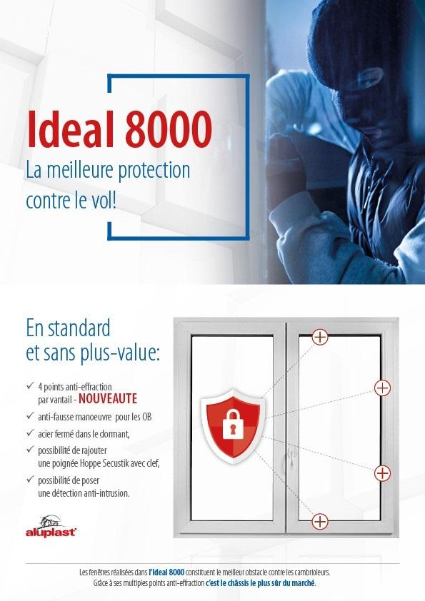 Fenêtre Sur Mesure En Pvc Marque Aluplast Gamme Ideal 8000