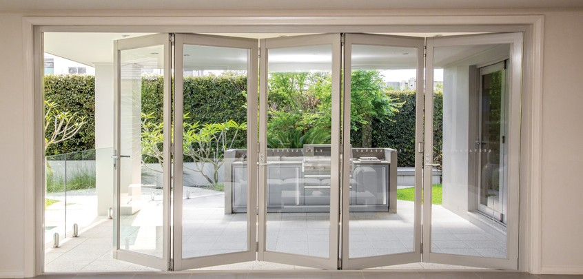 bi fold door alteration renovation central coast