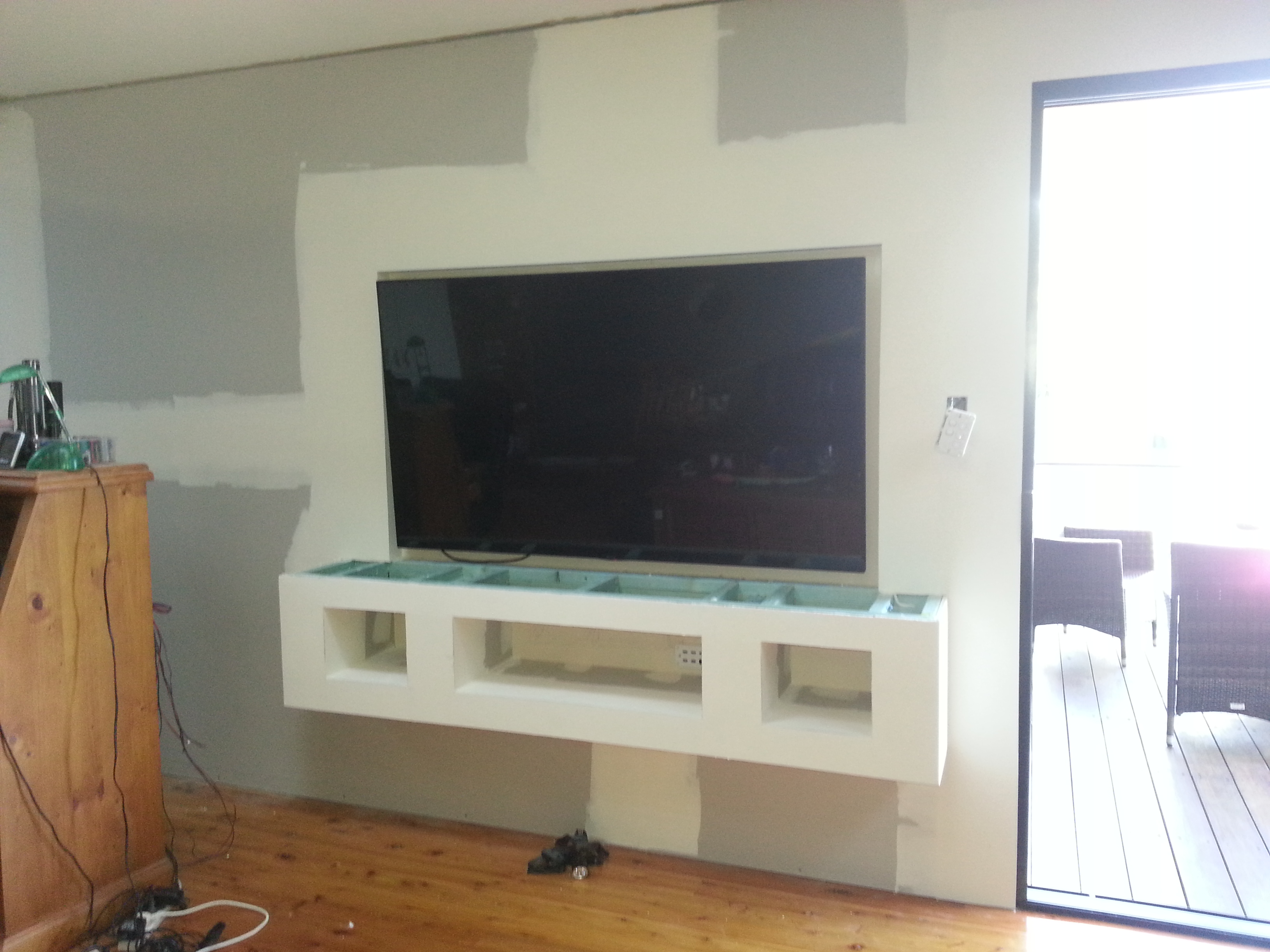 set in tv home theatre berkeley vale recessed central coast alterations