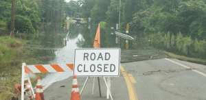 Flooded Roads Faulkner County