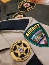 New Sheriff's Patches