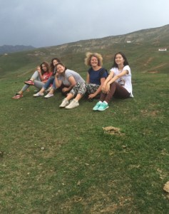 Visit in Alay, August 2016