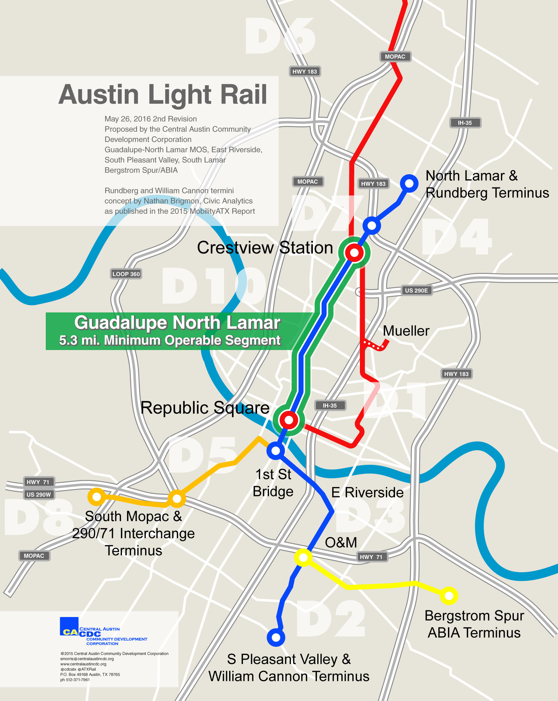 Red Line Metro Rail Map