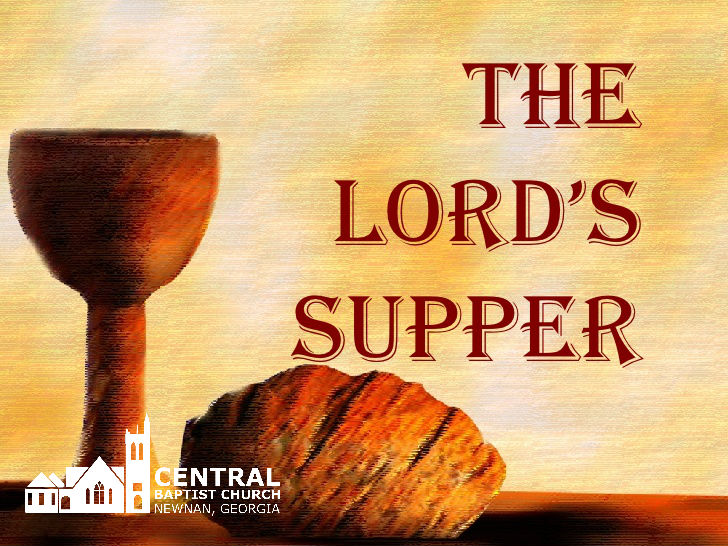 Unity and The Lord's Supper