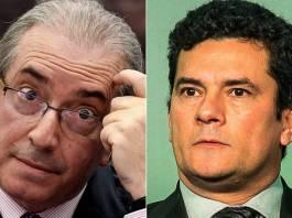 Cunha e Sérgio Moro