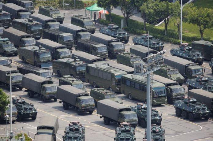 Paramilitares China