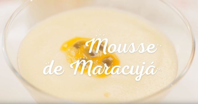 Mousse de Maracujá MOÇA