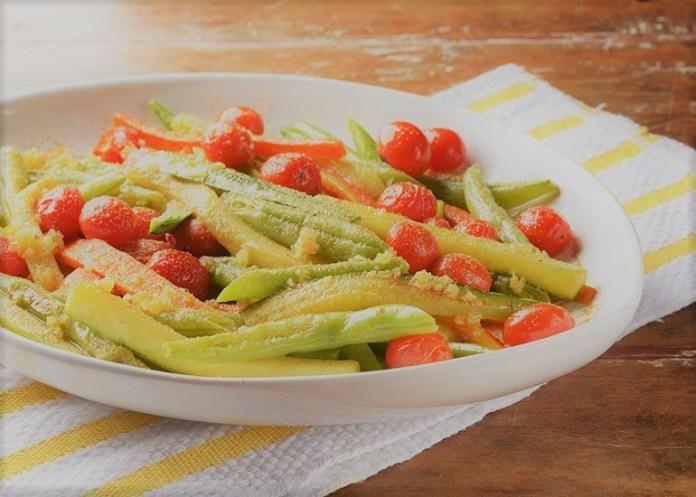 Legumes Refogados Na Manteiga com Alho, Cominho e Coentro