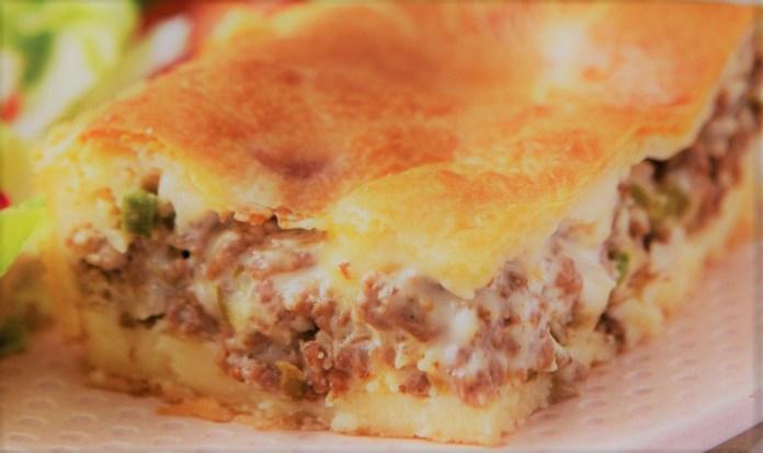 Torta de carne moída simples