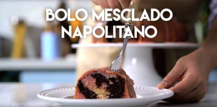 Bolo Mesclado Napolitano